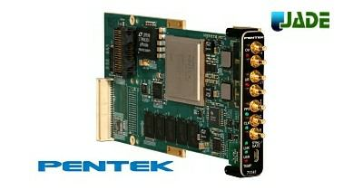 pentek Jade 6.4GHz ADC/DAC FPGA platform based on the Xilinx Kintex Ultrascale FPGA