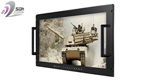 "Military Grade 24"" Panel PC and Display"