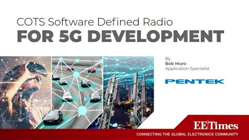 Pentek COTS Software Defined Radio for 5G Development