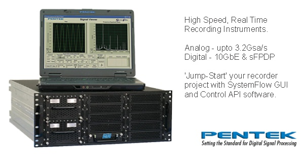 High Speed Realtime Data Recording image