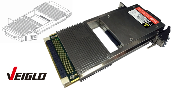 3U VPX Removable Solid State Storage (PCIe Gen3.0)