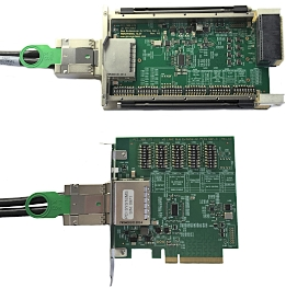 3U VPX Bus Extension Kit PCIe Gen. 3