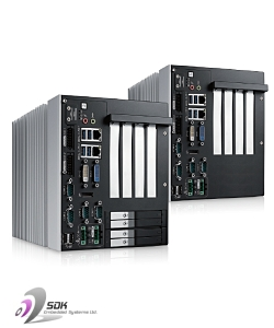 Industrial PC Servers with PCIe expansion