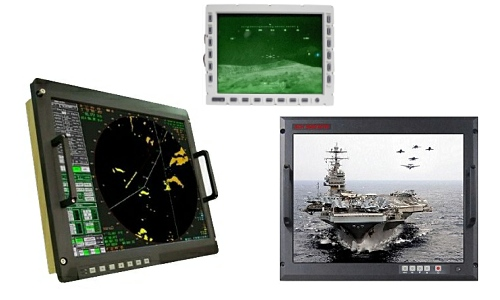 rugged military displays
